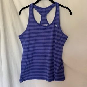 New balance athletic top in purple